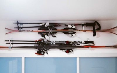How to Store Skis in a Small Space