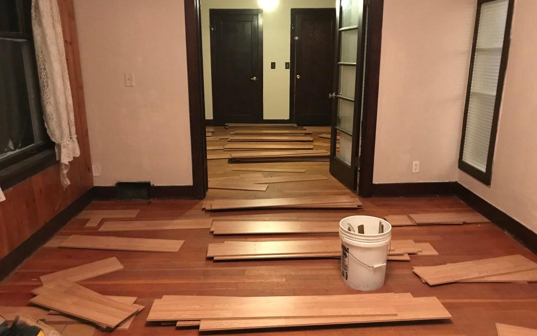 Removing Floors to Expose Original Hardwoods