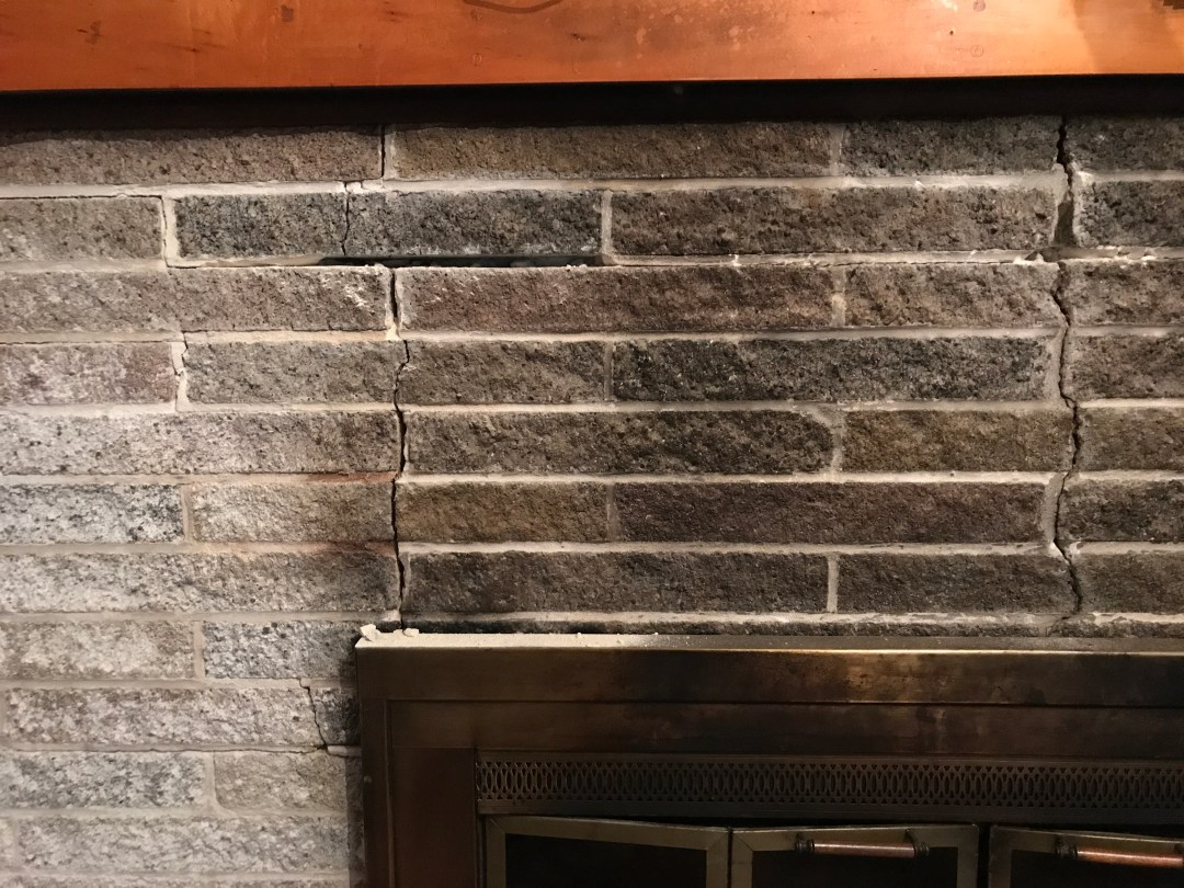 how to patch and paint a brick fireplace pursuit of craftsmanship