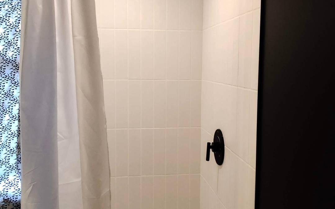 Vertical Tiled Shower