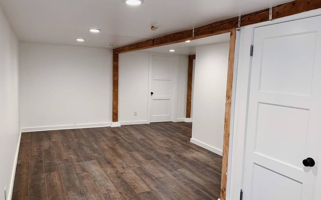 Walk-Out Basement Remodel — Before and After!
