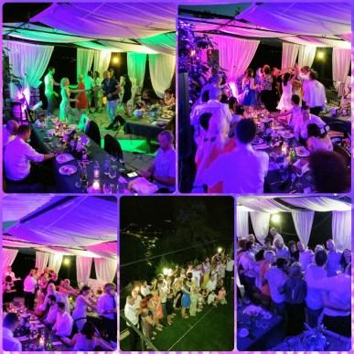 Poročna zabava v večernih urah