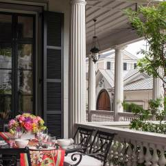 Minton Spidell Chairs Folding Bamboo Southern Classic Mansion: Historic Charleston- Dk Decor