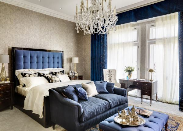 blue interior bedroom designs Blue Interior Design: 20 Looks - Dk Decor