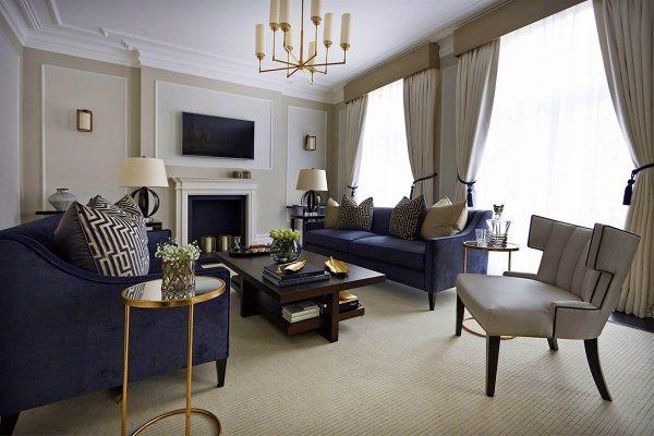 interior design living room decor Timeless Interior Design: Boscolo   DK-decor