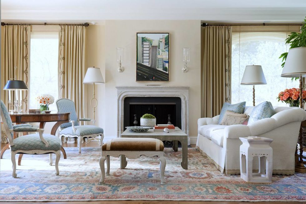 traditional style living room rug sizes relaxed pacific heights dk decor suzanne tucker a