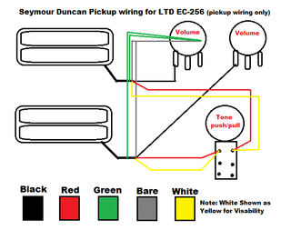 Wiring Diagram Ec 256 The ESP Guitar Company