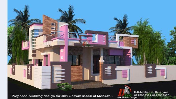 one floor house design