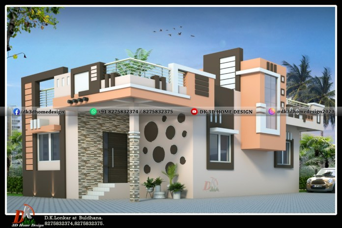 small house 3D design