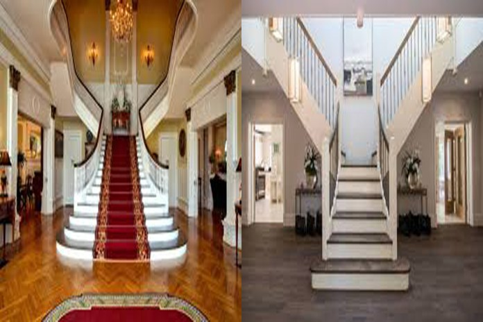 Different types of stairs