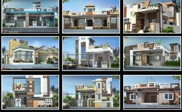 single floor house design