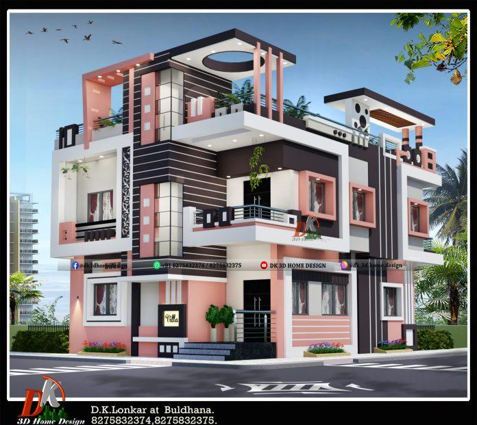 2 floor house design plan