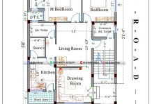 30*40 2bhk house plan in 1200 square feet