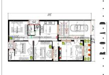 25x50 3bhk house plan single floor 1200 sq ft with car parking