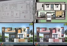 30 by 55 house plan and design
