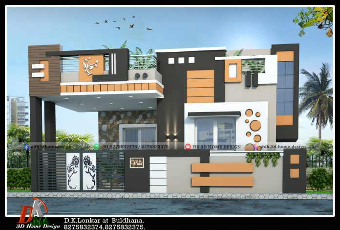 1650 square feet 2 bedroom house design in 30 by 55 square feet