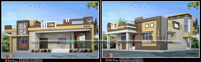 2000 sq ft single floor house design