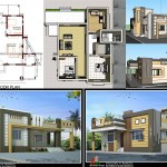 50x40 house plan with design