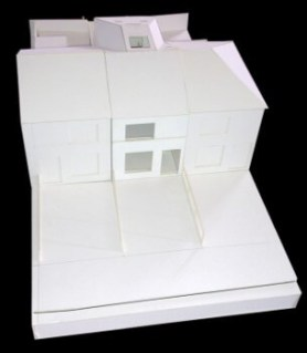 Architectural Model Front