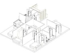 First Floor Extension Axonometric 2