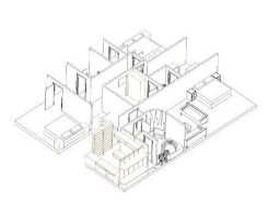 First Floor Extension Axonometric