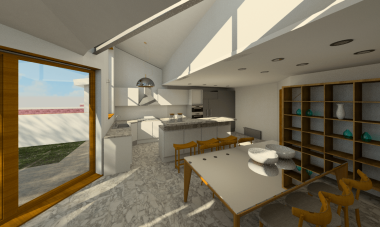 Dining Space for Construction Autumn 2015
