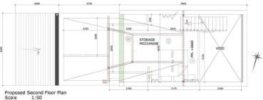 Second Floor Mezzanine Layout