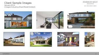 The process began with the a sample board of images provided by the client