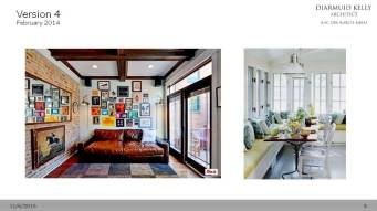 The client researched some further ideas about how the new space might be furnished and sent us these images.