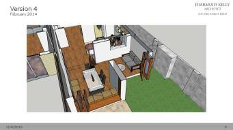We reworked the layout to create the dining window seat and the reading nook