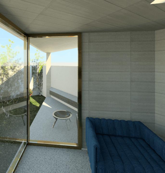Door to outdoor space