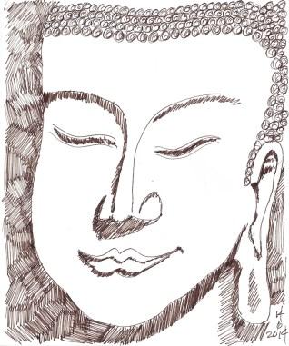 W14 6 14 Buddha Face
