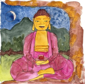 W14 6 15 Buddha Sitting