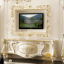 Meja Bufet Tv Klasik Mewah Terbaru Btv 150 Df Dkayou