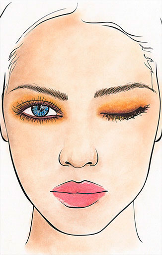 Avon Makeup Project Runway