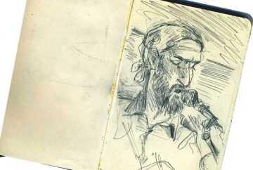 Kyle Stone portrait of DK Brainard