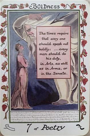 7 of Poetry - Blake Tarot