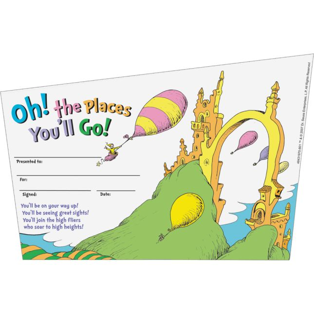oh the places you ll go awards 36 awards