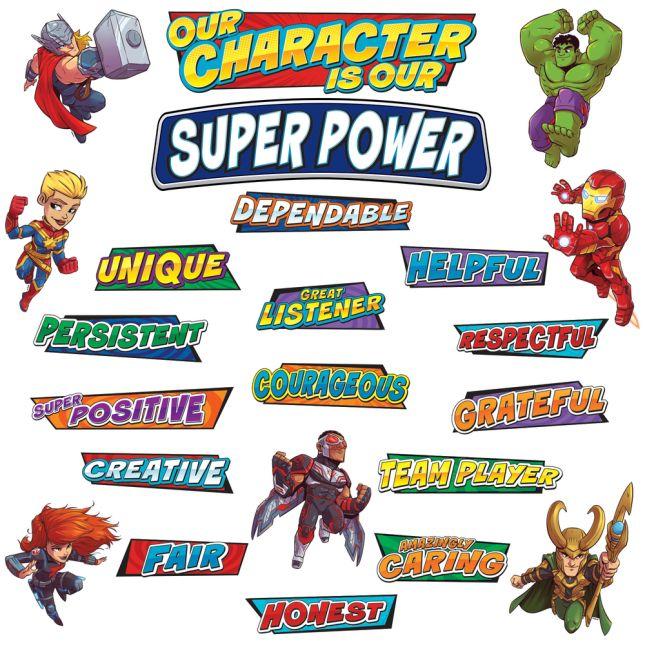 Marvel Superhero Adventure Mini Bulletin Board Set