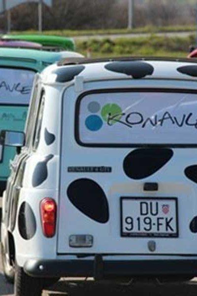 Konavle Dubrovnik Renault 4 tour Croatia
