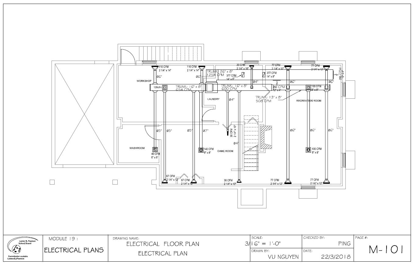 hight resolution of autocad hvac drawing picture