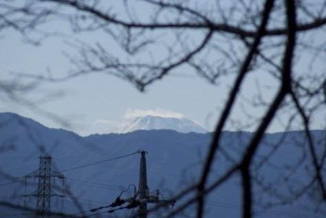 2009年1月2日の富士山