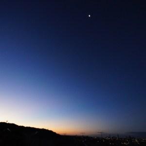 夜と朝の境目