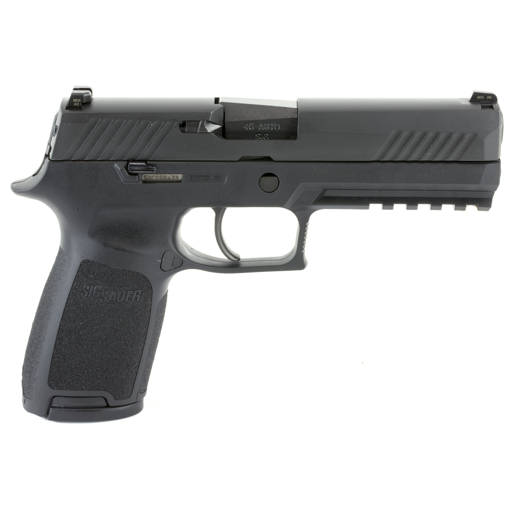 hight resolution of sig sauer p320 full size 45acp night sights 1