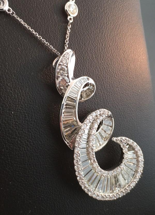 Diamond-pendant-necklace-727-carat-white-gold-pendant-chain-14-carat-6 Dk Gems