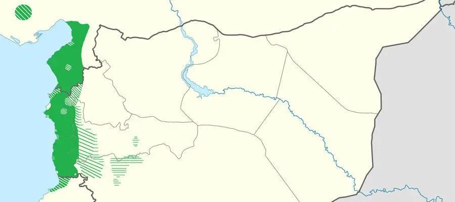 خريطة العلويين