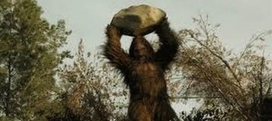 الكائن الخيالي Bigfoot