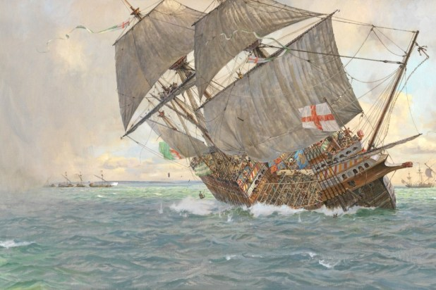 غرق سفينة (ذا ماري روز).