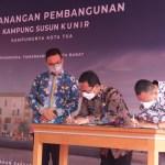 Anies Baswedan Resmikan Pencanangan Kampung Layak Huni