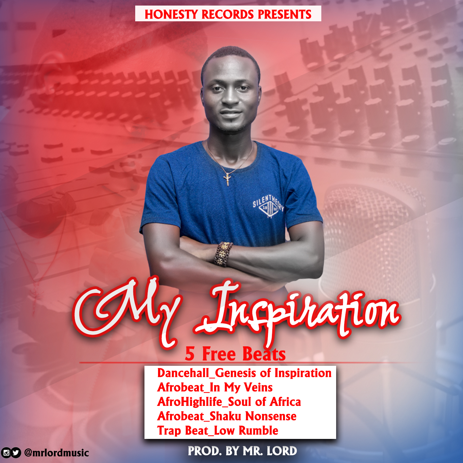 5 Free Beats : Mr Lord - My Inspiration (Prod by Mr Lord)